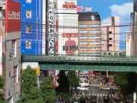 Seorang Mahasiswa Jepang Berhasil Ciptakan Diorama Keren Dengan Konsep Akihabara