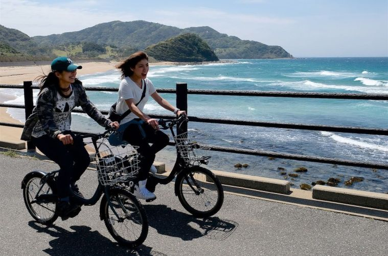 Menelusuri Keindahan Jepang Dengan Bersepeda
