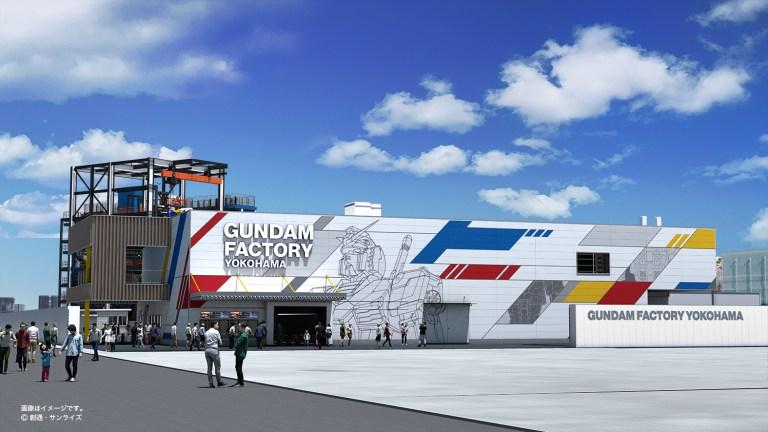 Wisata Gundam Bergerak Akan Hadir Di Yokohama Pada Akhir Tahun 2020