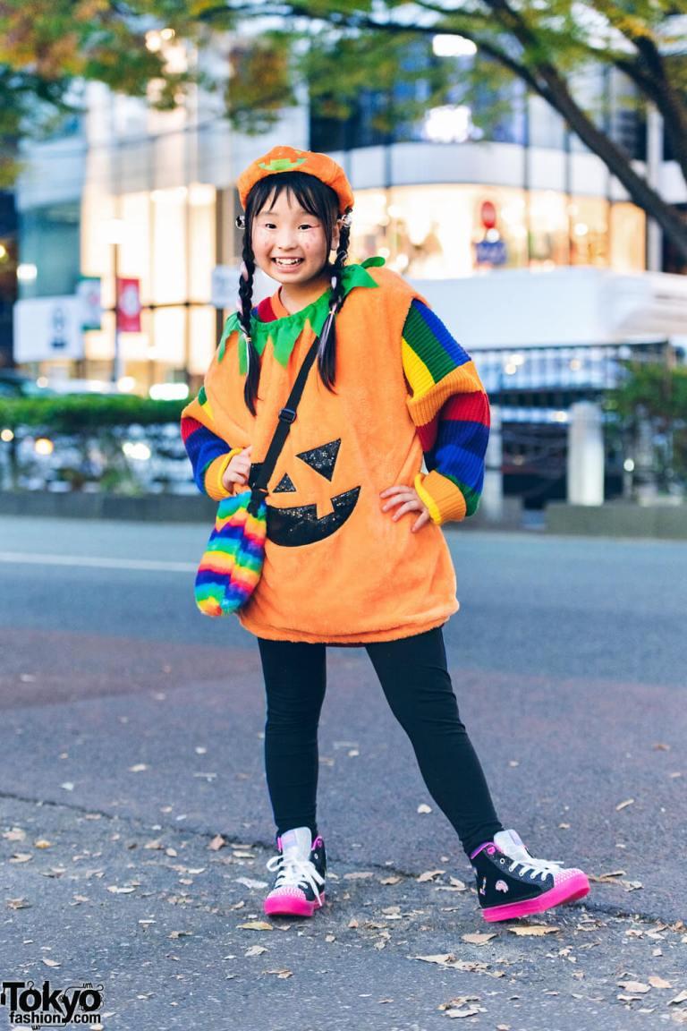 Tampilan Unik dan Imut Dari Aktris Cilik Neo Baba Dalam Harajuku Fashion