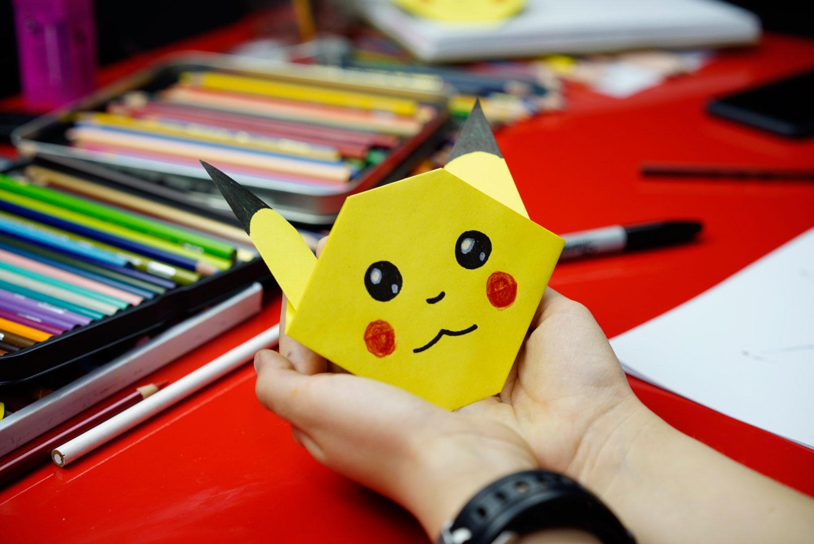 How To Fold Pikachu Origami