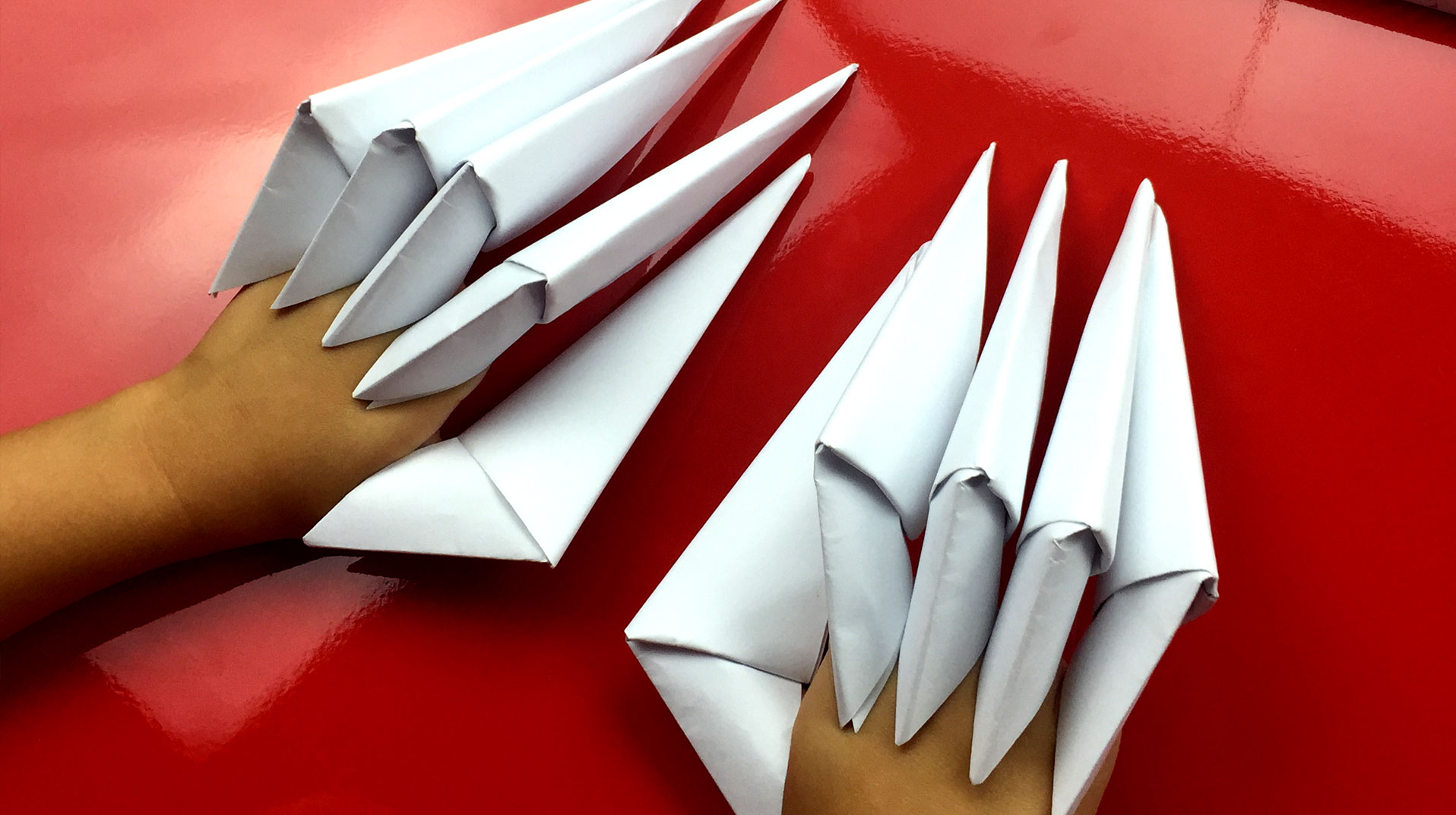 How To Fold Paper Claws Art For Kids Hub