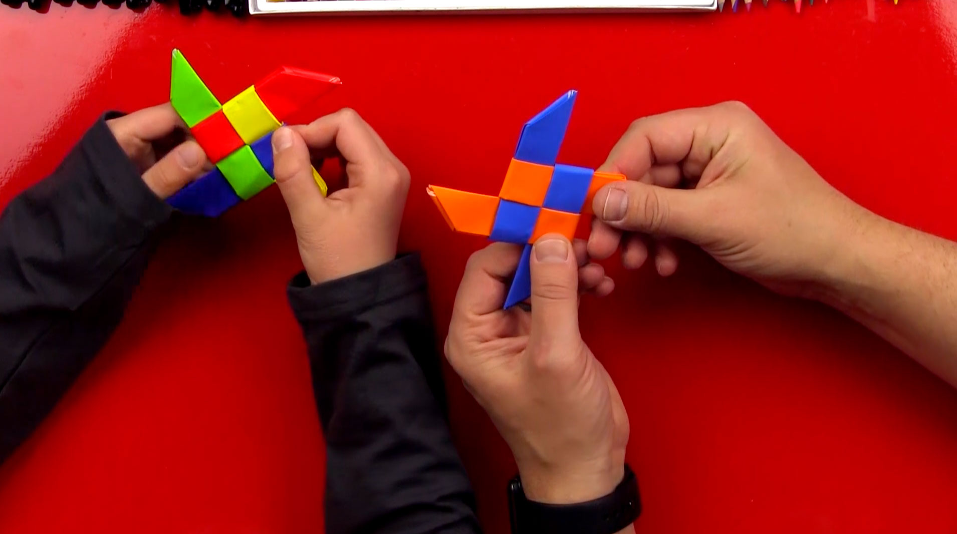 How To Fold An Origami Throwing Star