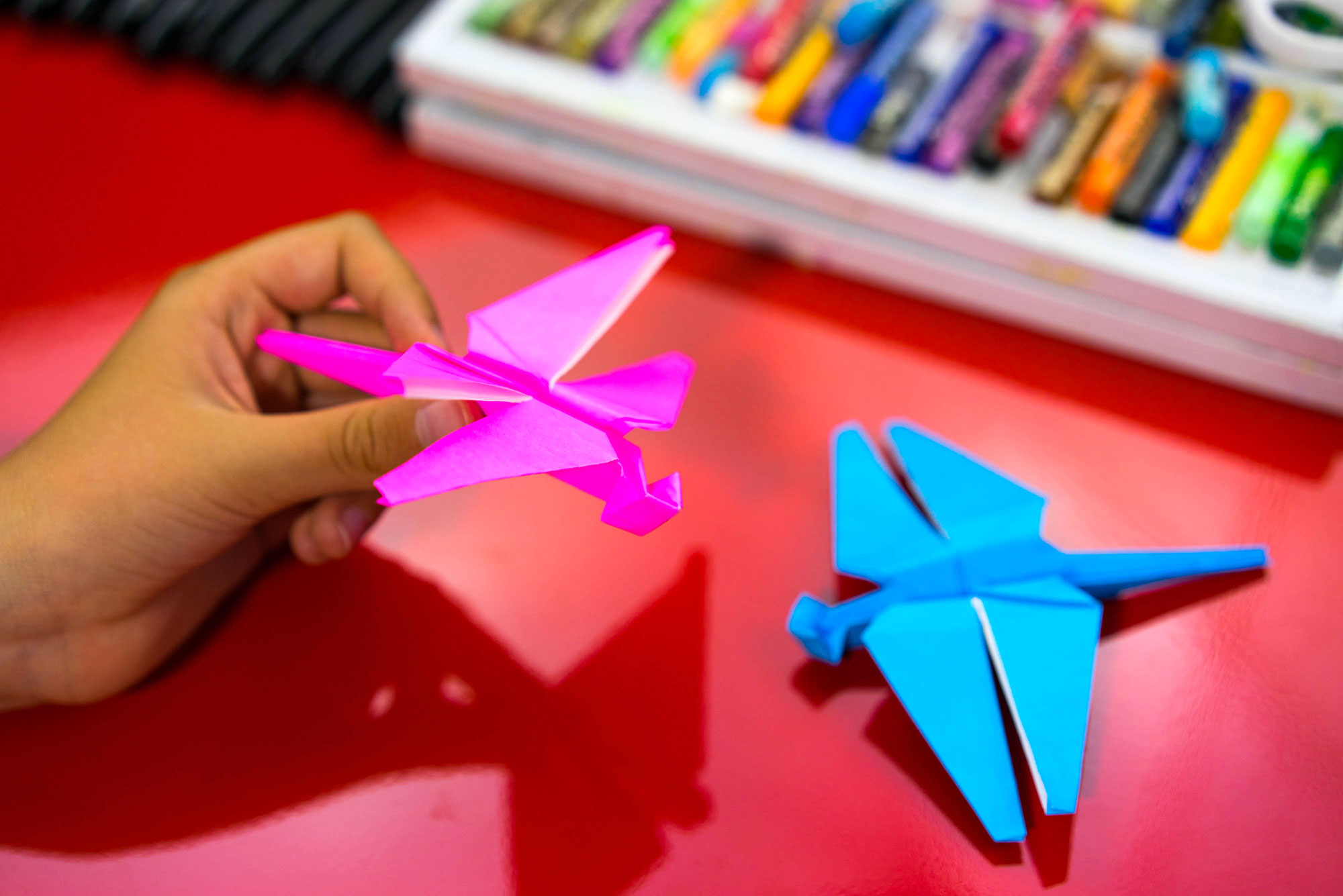 How To Fold An Origami Dragonfly