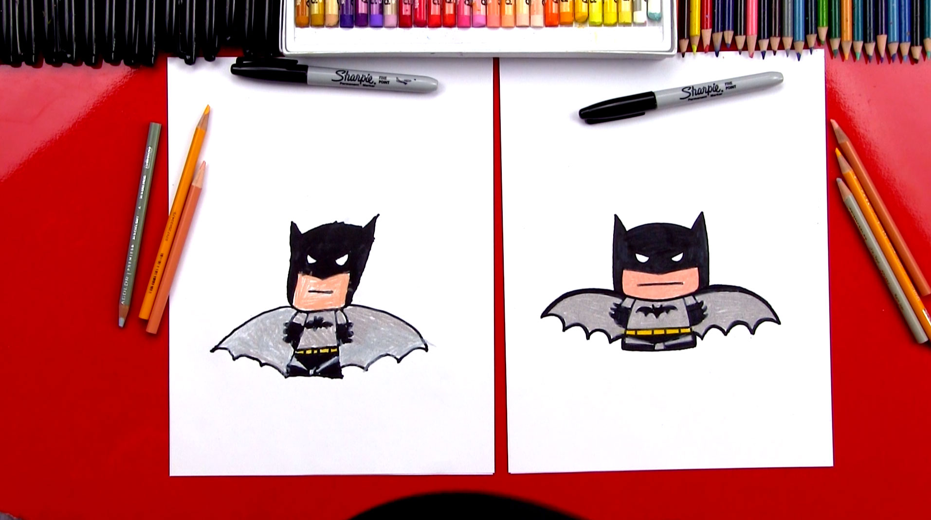 84 Tutorial How To Draw Batman Whole Body Worksheets