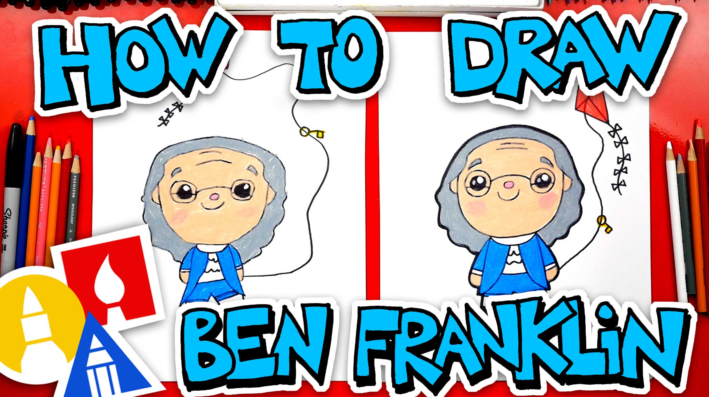 How To Draw Benjamin Franklin