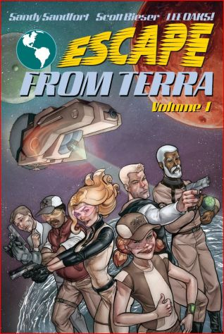 libertarian science fiction graphic novel escape from terra