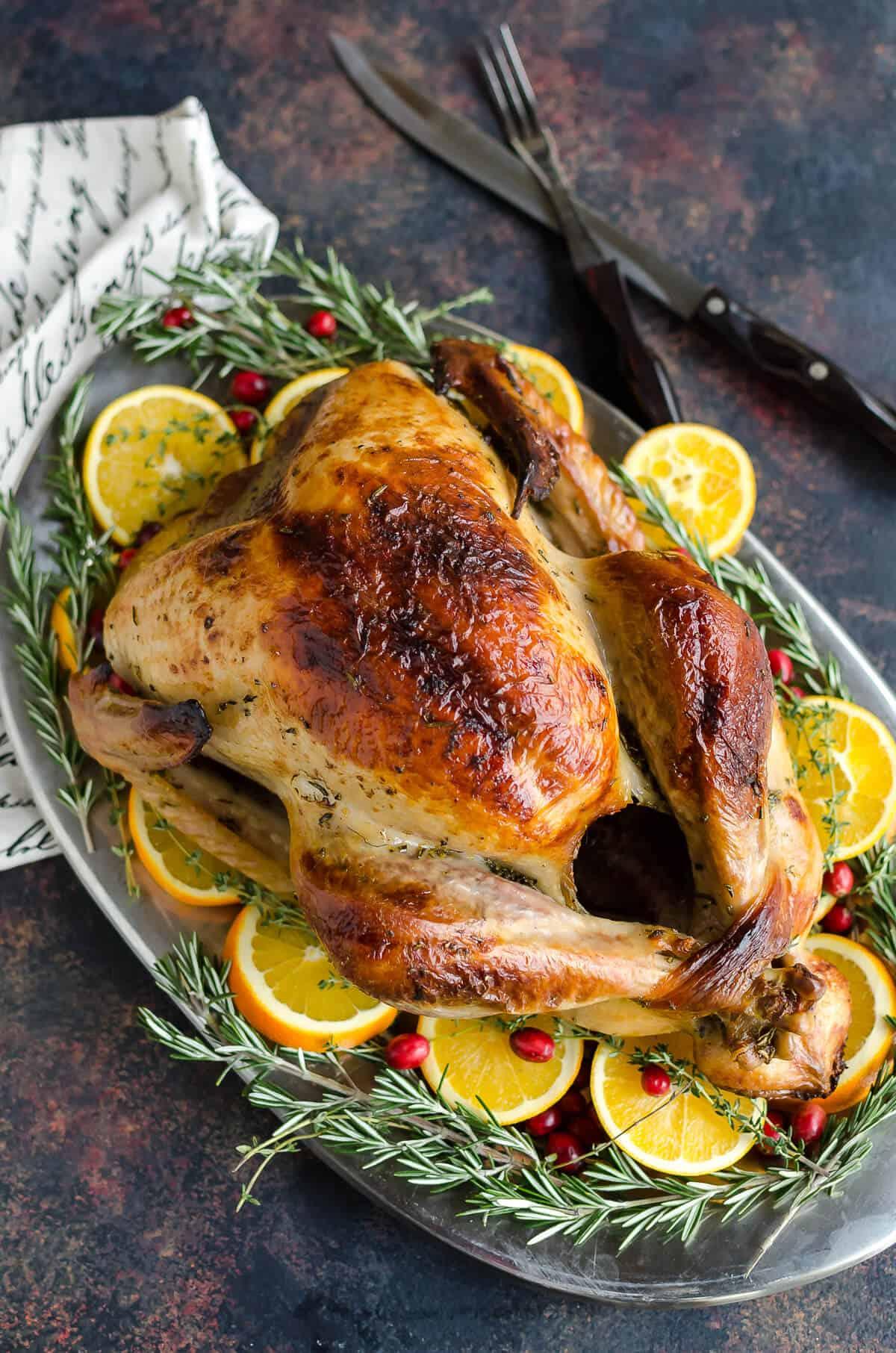 The Best Roast Turkey Recipe Art From My Table
