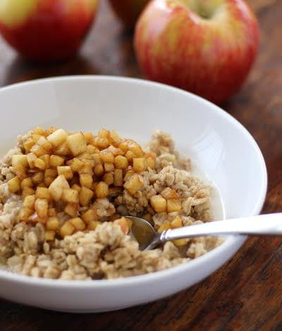 Cinnamon Apple Old Fashioned Oatmeal