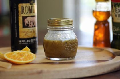 orange sherry vinaigrette