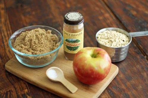 Cinnamon apple oatmeal ingredients