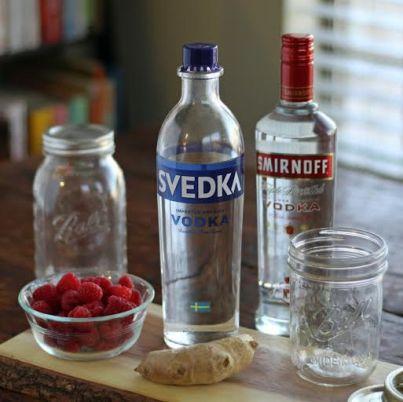 infused vodka ingredients