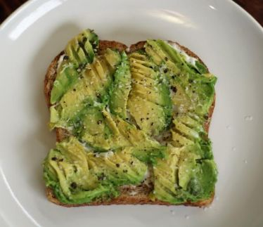 Avocado Toast - step 1