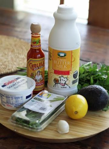 Avocado Ranch Dressing Ingredients