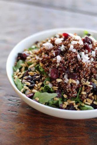 Simple Quinoa Side Salad Artful Dishes