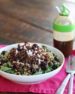 Protein Side Salad with Balsamic Vinaigrette
