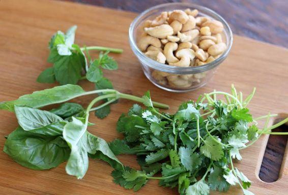 Rice Noodle Salad Ingredients