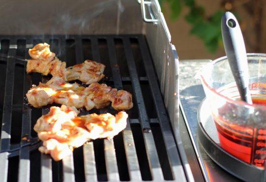 Teriyaki Chicken on the Grill