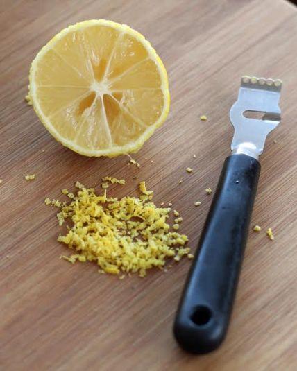 Lemon Zest and Juice for Roasted Broccoli Artful Dishes