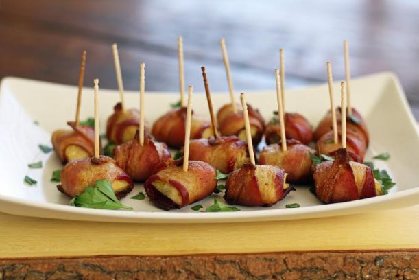 Bacon Artichoke Bundle Appetizers - Artful Dishes
