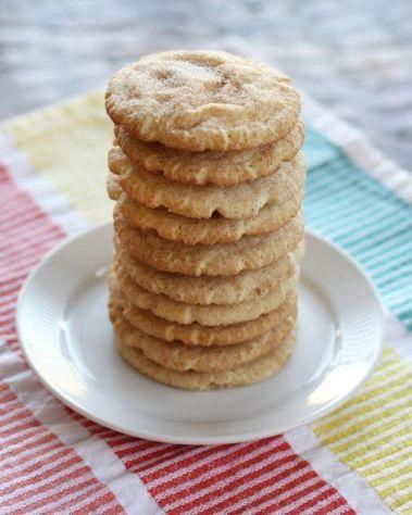 Snickerdoodle Cookie Stack