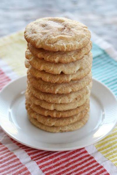 Cinnamon Sugar Snickerdoodle Cookies