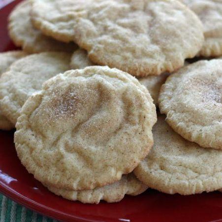 Cinnamon Sugar Snickerdoodle Cookies with Cinnamon Sugar