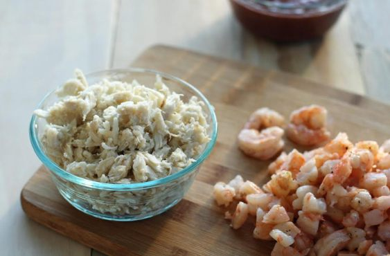Crab and Shrimp for Seafood Party Dip Artful Dishes