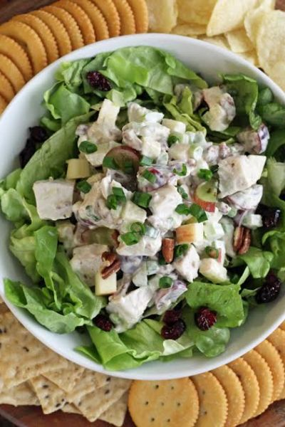 Turkey Pecan Waldorf Salad