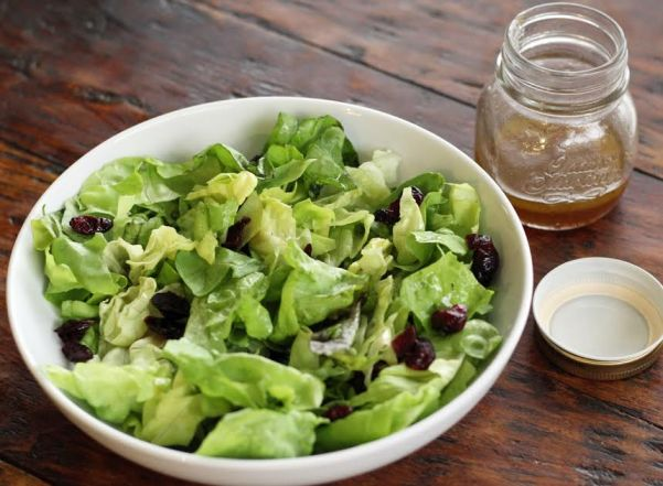 Greens for the Turkey Waldorf Salad