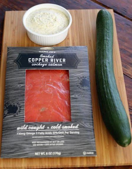 Elegant Cucumber Bites Ingredients A Three Ingredient Appetizer Artful Dishes