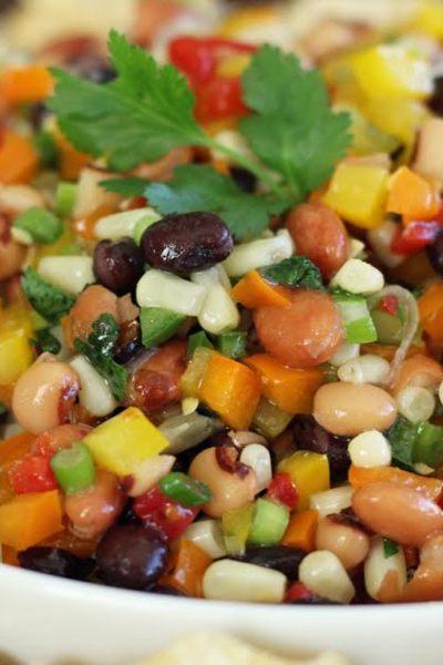 Cowboy Caviar Southwestern Bean and Veggie Dip