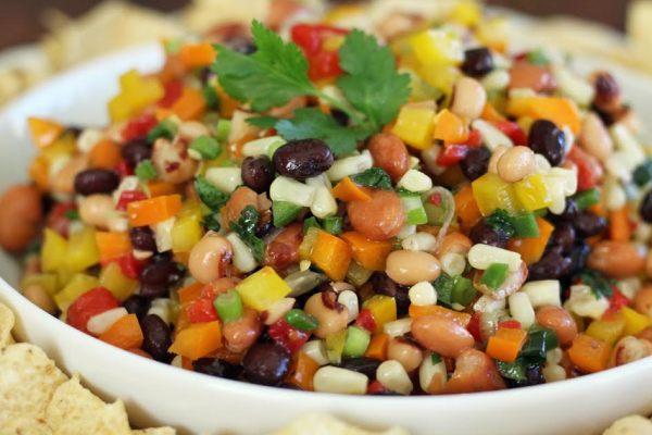 Cowboy Caviar Southwestern Bean and Veggie Dip Artful Dishes