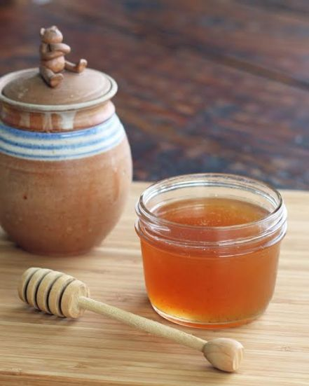 A Jar of Honey Simple Syrup Artful Dishes