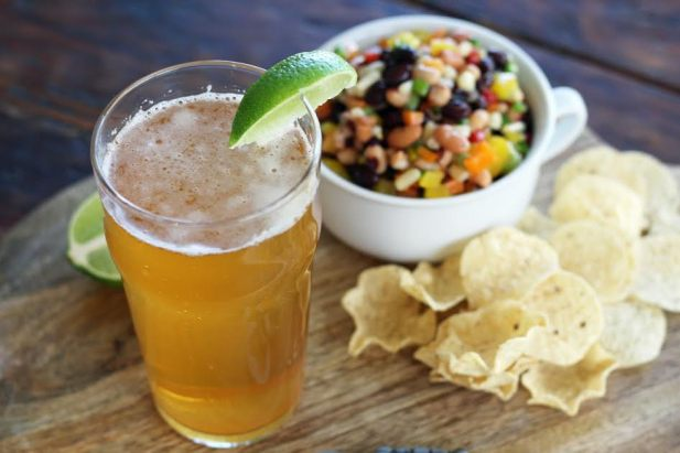 Cowboy Caviar and an Amaretto Shandy Beer Cocktail Artful Dishes
