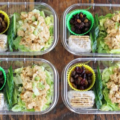 Chicken Salad Protein Boxes (Meal Planning)