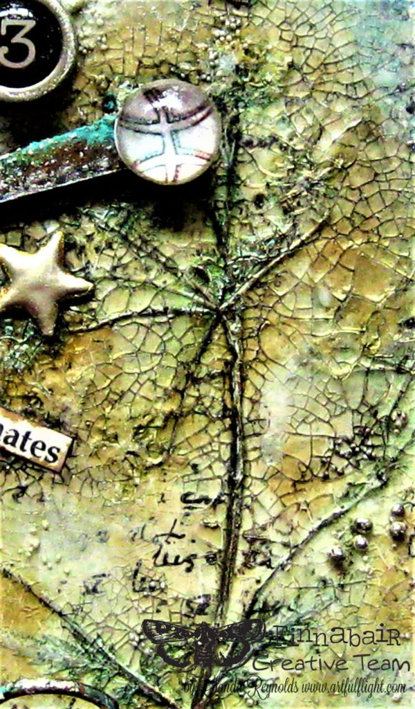 Soulmates – mixed media on balsa wood panel
