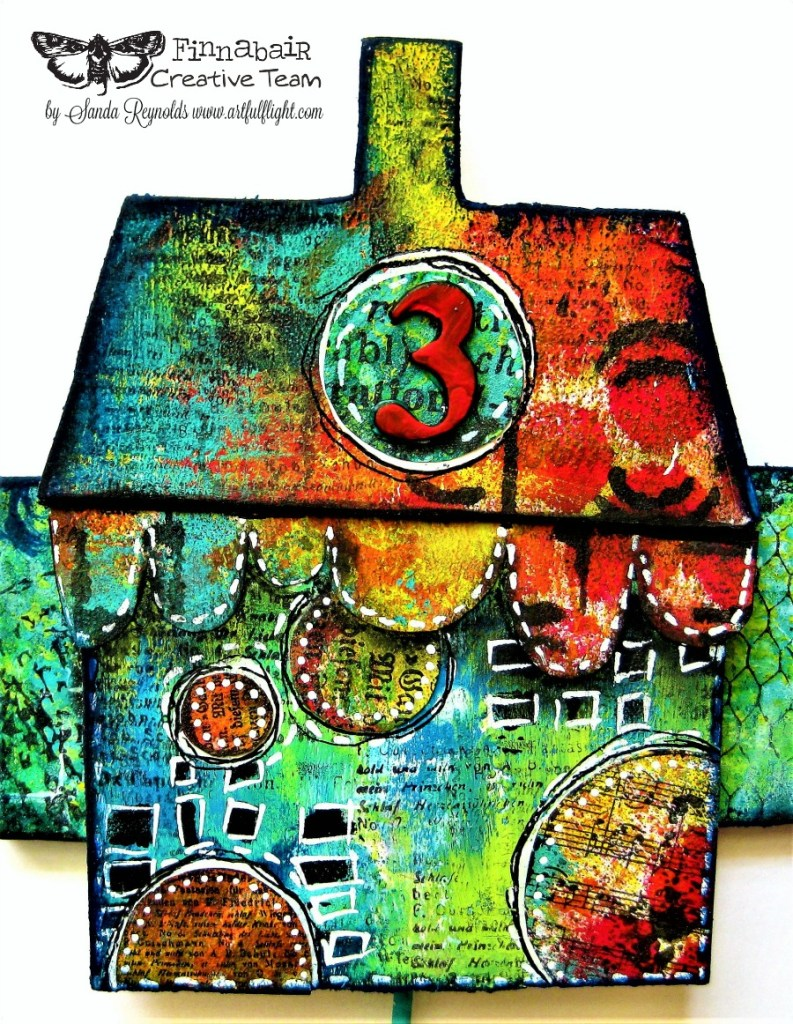 """""""Home is not a place… it's a feeling"""" – Altered key hanger for Finnabair CT"""