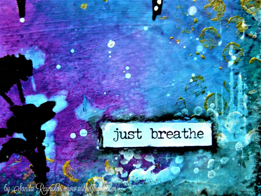 "ICAD challenge - Day #22 ""Just Breathe"""