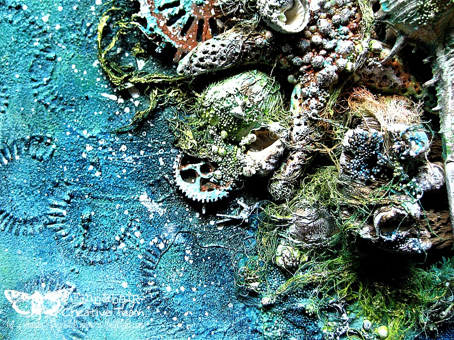 Hidden Treasures – Mixed Media Canvas for Finnabair CT