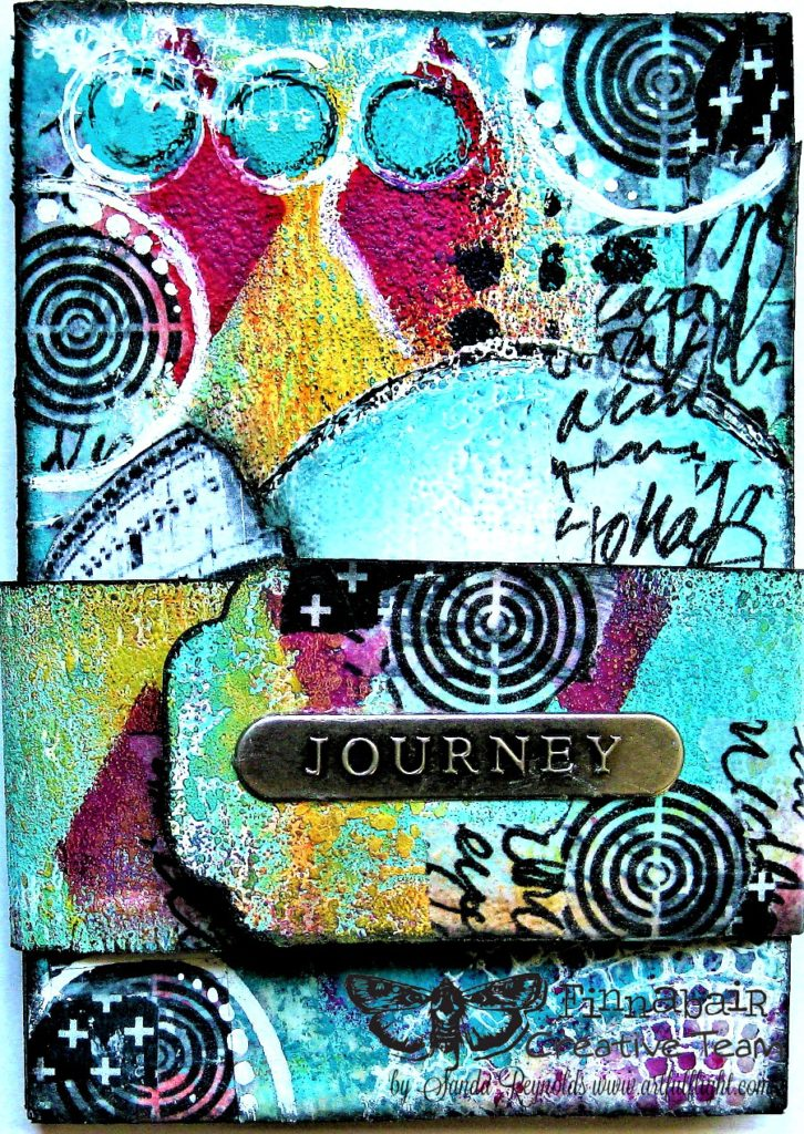 Journey – Mini Accordion Book for Finnabair CT