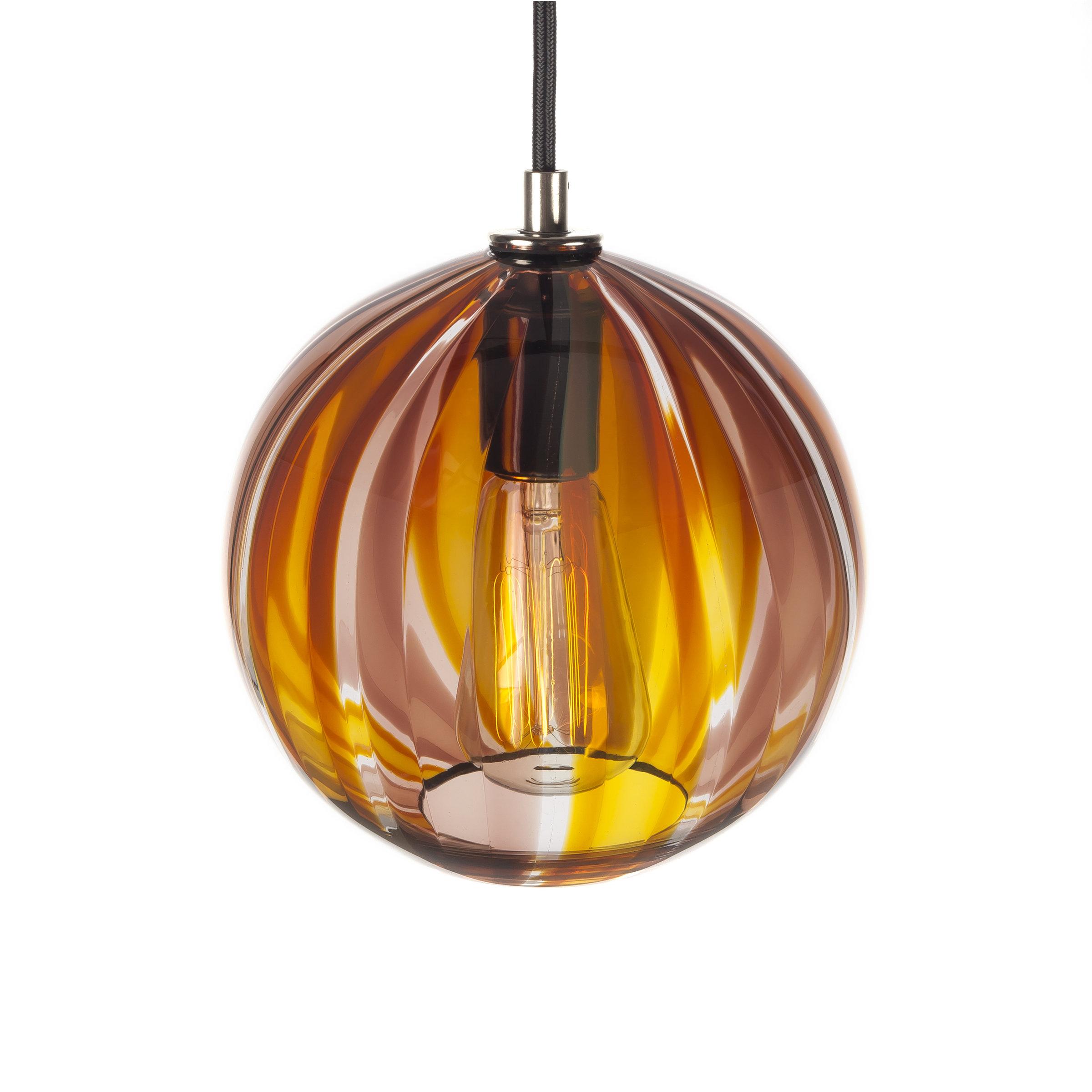 beach house pendant by tyler kimball art glass pendant lamp artful home