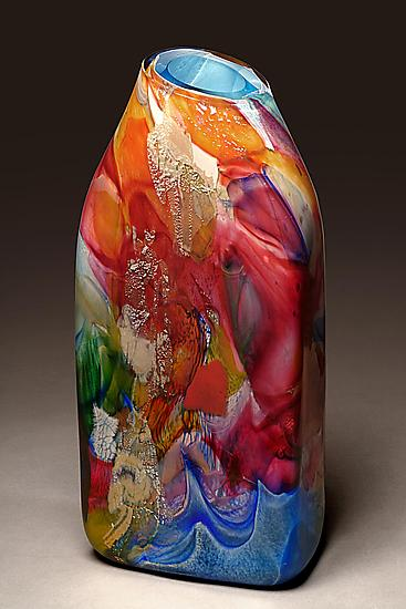Shard Rectangle By Randi Solin Art Glass Vessel Artful Home