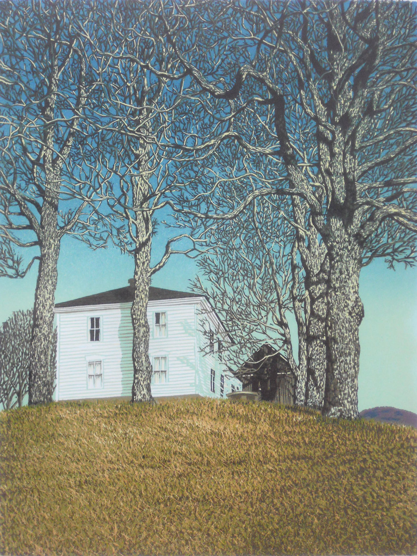 Halifax House By William Hays Linocut Print Artful Home