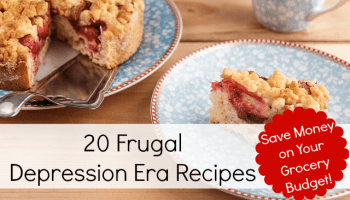 10 lessons from the great depression artful homemaking 20 frugal depression era recipes forumfinder Gallery