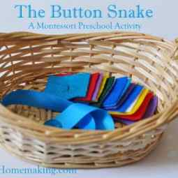 The Button Snake