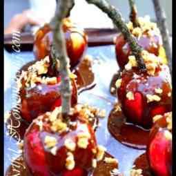 Healthier Caramel Apples