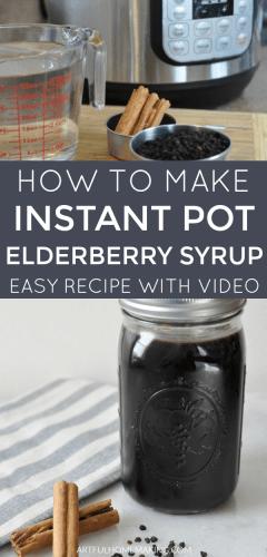 Instant Pot Elderberry Syrup