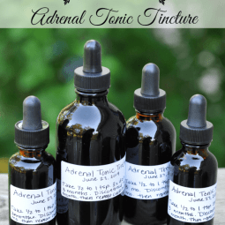 Healing Adrenal Fatigue {Adrenal Tonic Tincture}