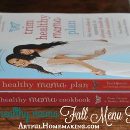 Trim Healthy Mama Fall Menu Plan